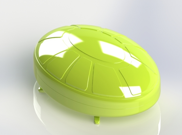 Turtle Box in White Strong & Flexible