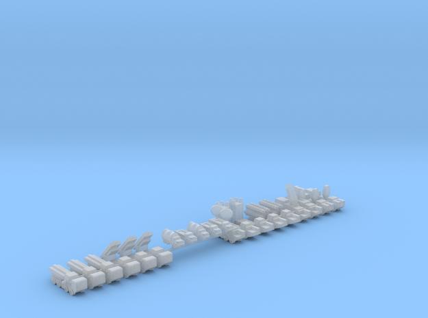 1/700 CJ-10 SSM Battalion in Smooth Fine Detail Plastic