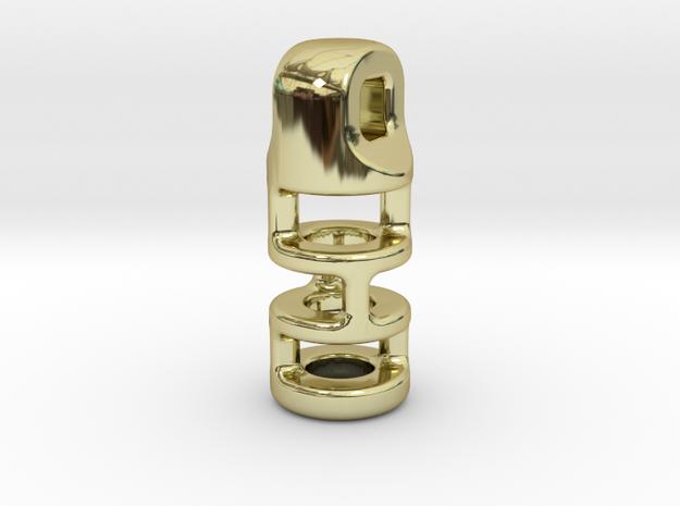 Tritium Lantern 3B (2.5x10mm Vial) 3d printed