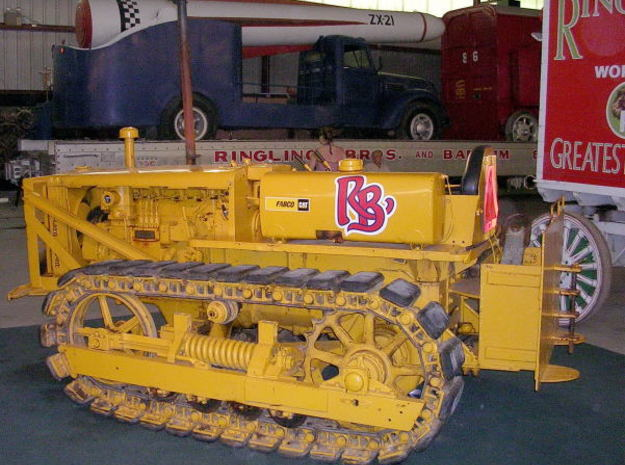 Caterpillar D4 - Zscale 3d printed Prototype photo from http://www.pbase.com/redtop/image/47502449