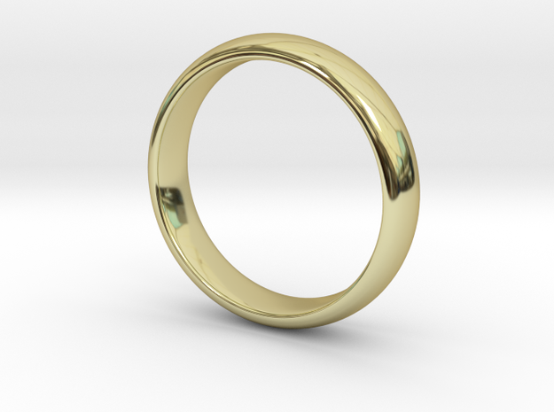 Sample in 18k Gold