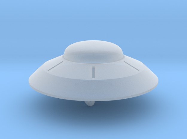 1/700 Flying Saucer in Smooth Fine Detail Plastic