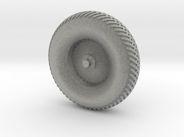 09B-LRV - Back Right Wheel in Metallic Plastic