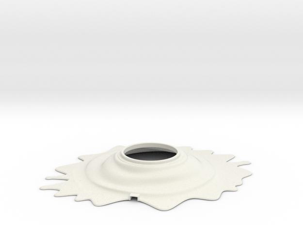 Oplà lamp - Base in White Natural Versatile Plastic