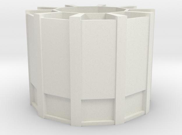 stationary organizer in White Natural Versatile Plastic