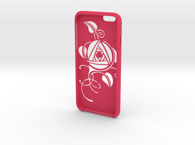 IPhone6 Big Cut Style Rose in Pink Strong & Flexible Polished