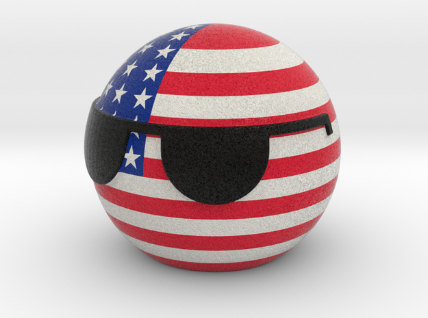 USAball in Full Color Sandstone