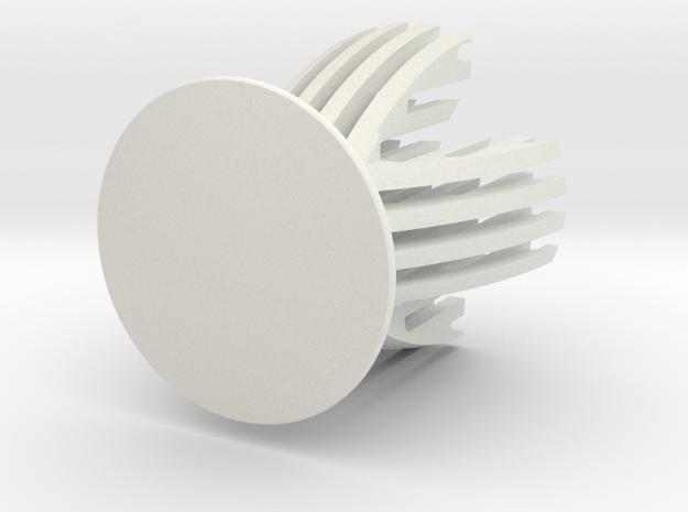 Sliced Egg Holder in White Natural Versatile Plastic