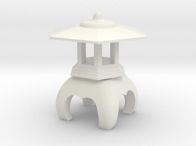 Spirit House - Venerable in White Natural Versatile Plastic