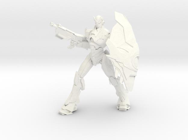 Jian - Blizzard / Jian - Ventisca in White Strong & Flexible Polished