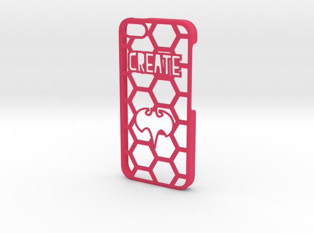 iPhone 5 Case - Customizable in Pink Processed Versatile Plastic