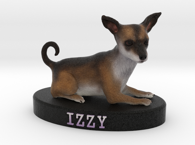 Custom Dog Figurine - Izzy 3d printed
