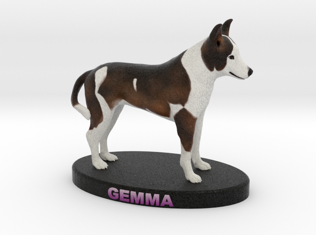 Custom Dog Figurine - Gemma 3d printed