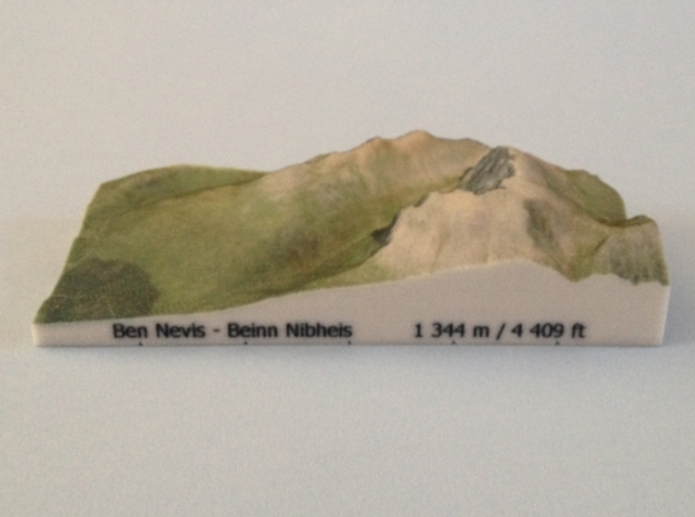 Ben Nevis - Photo in Full Color Sandstone