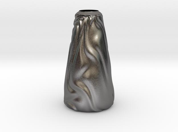 Vase Ist Los? in Polished Nickel Steel