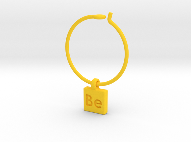 Element Wine Charm - Be 3d printed
