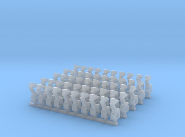 Kurze Kupplungen - 50 Stück