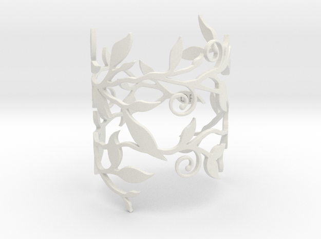 Branche Bracelet (SMALL) 3d printed Black Strong & Flexible version