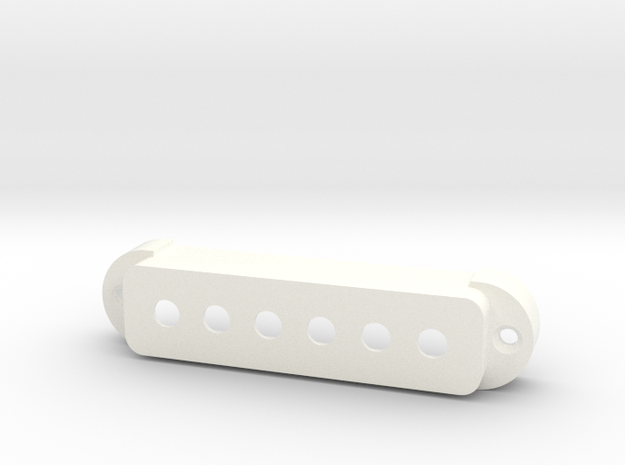 Jaguar Pickup Cover - Standard in White Strong & Flexible Polished