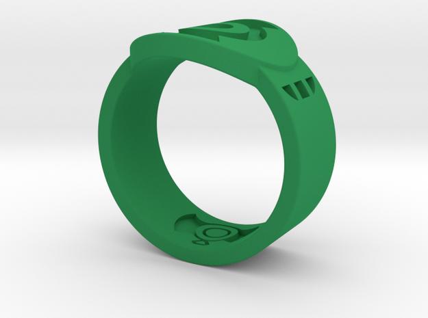 FF GL Sz 13 in Green Processed Versatile Plastic