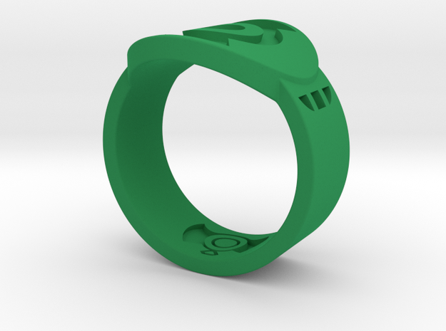 FF GL Sz 14 in Green Processed Versatile Plastic