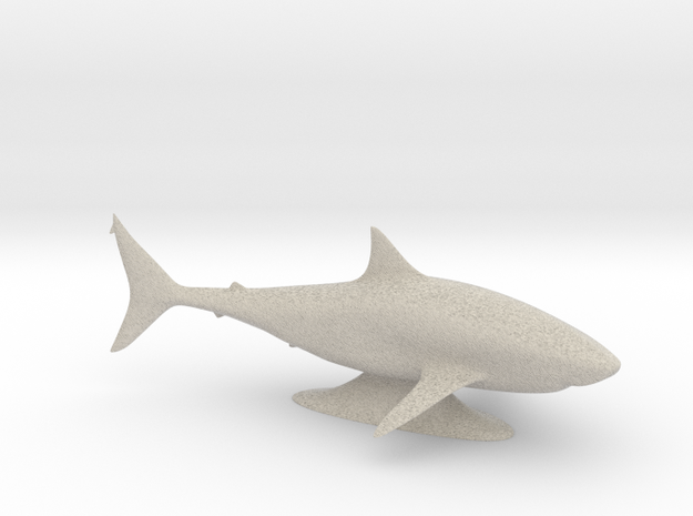 Sharkie in Sandstone