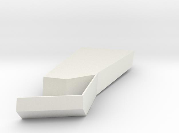 Vdpf4c28on18st1dffcruaqk32 56042107 Mod.stl in White Strong & Flexible