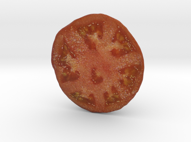 The Tomato-2-Lower Half in Full Color Sandstone