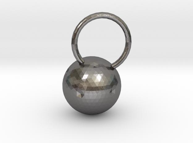 Luna Pendant in Polished Nickel Steel