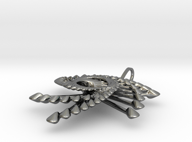 Spinnoloids trio pendant 4.2cm 3d printed