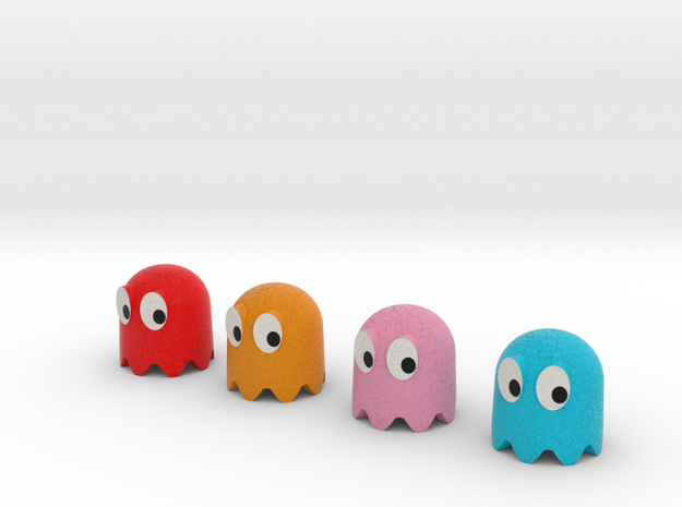 Pac-Man ghosts 4pack