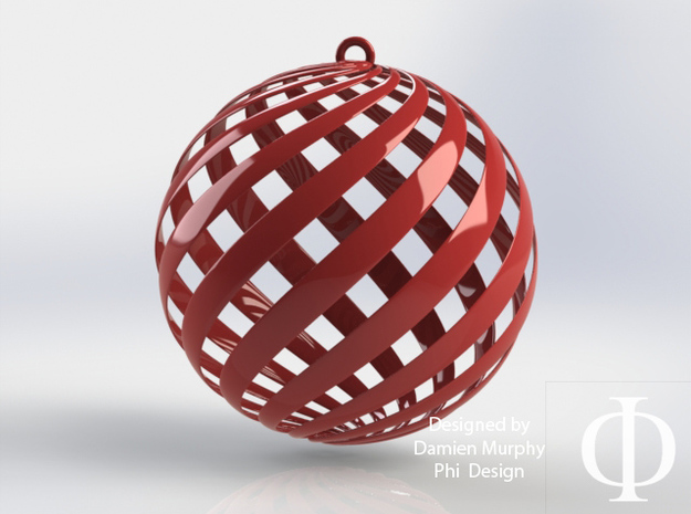 Holiday Decoration Loxo Ball