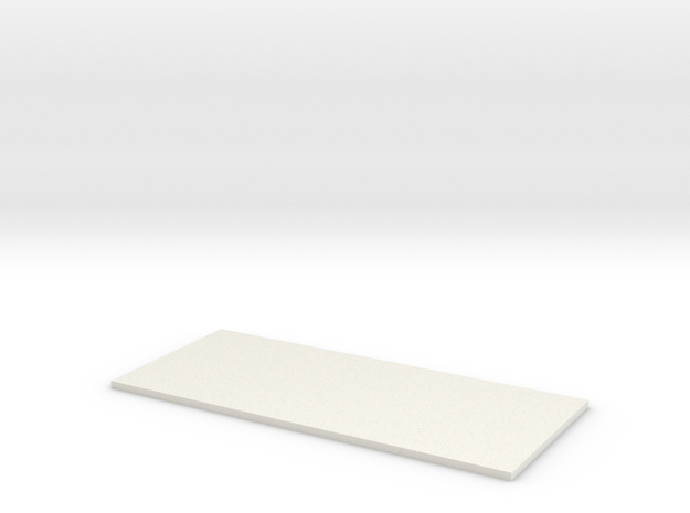 Transformer Bttm Plate-1 in White Natural Versatile Plastic