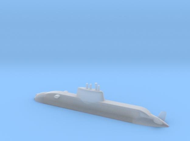 1/700 Dolphin class submarine (Waterline) in Smooth Fine Detail Plastic
