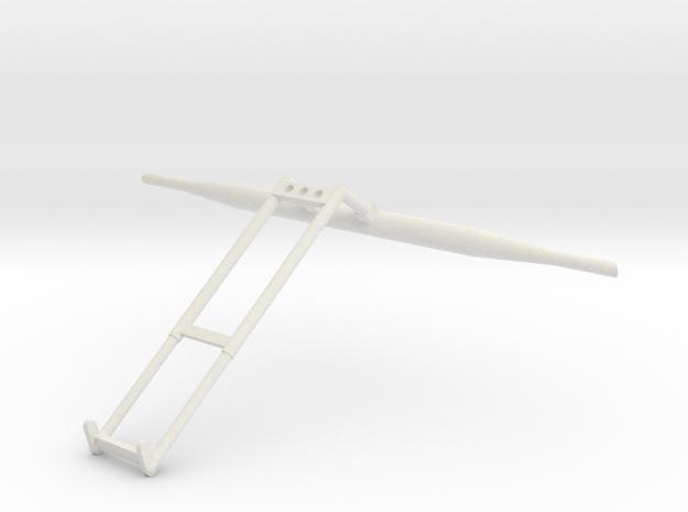 37F-J Mission-LRV Saddle Scenario 6 in White Natural Versatile Plastic