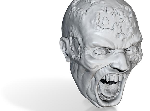 Zombie Head 3d printed