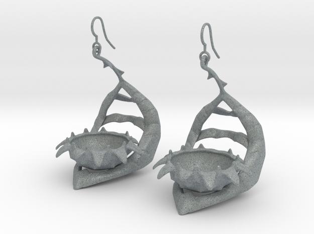 Carnivorous plant earring Planter 3d printed