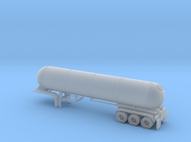 N scale 1/160 LPG 45' triple-axle Tanker in Smooth Fine Detail Plastic