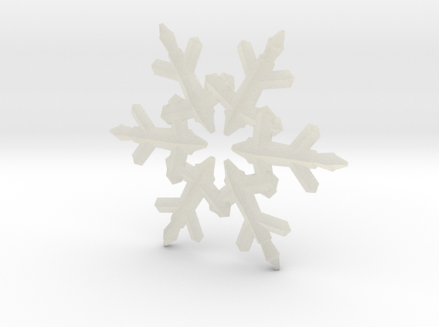 Snow Flake 6 Points C - 5cm 3d printed
