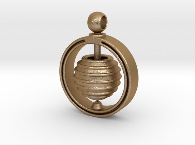 Spinning Top Pendant