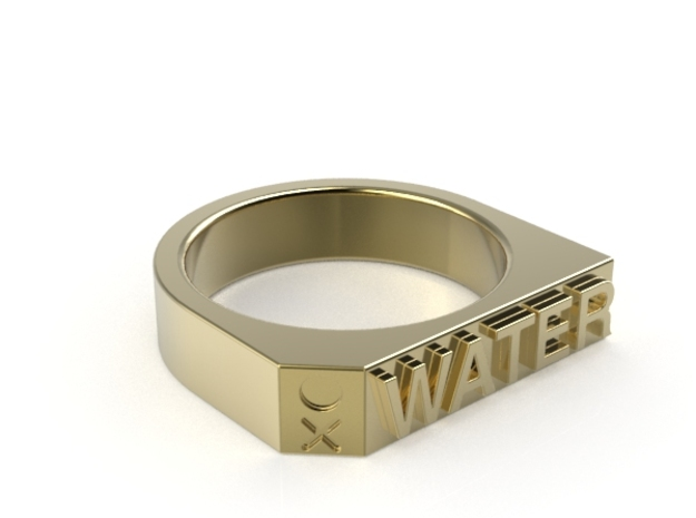 Water Ring - Captain Series - Mulder&Skully 3d printed