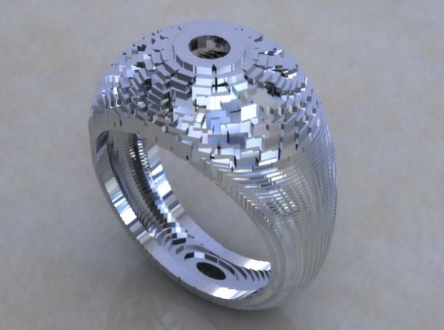 05 in Polished Silver