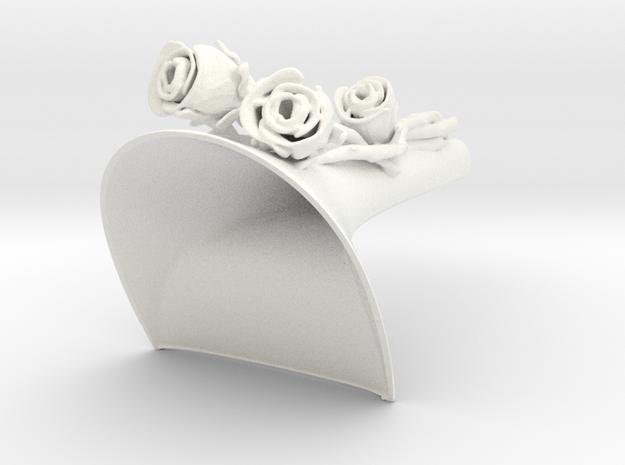CoverroseFiorangeloN39 (1) in White Strong & Flexible Polished