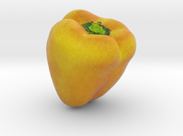 The Yellow Pepper-2 in Full Color Sandstone