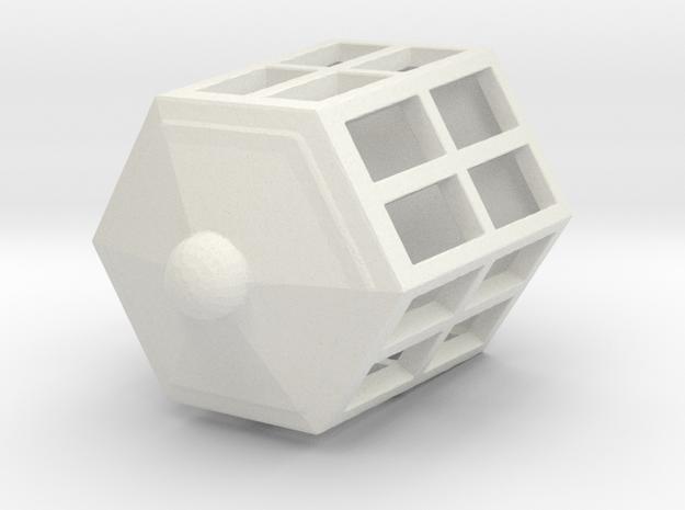 Lantern in White Strong & Flexible