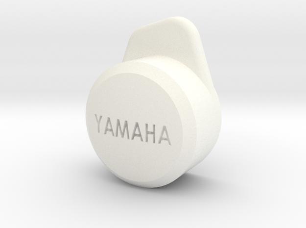 Y Wing Helmet Yamaha Cap in White Processed Versatile Plastic