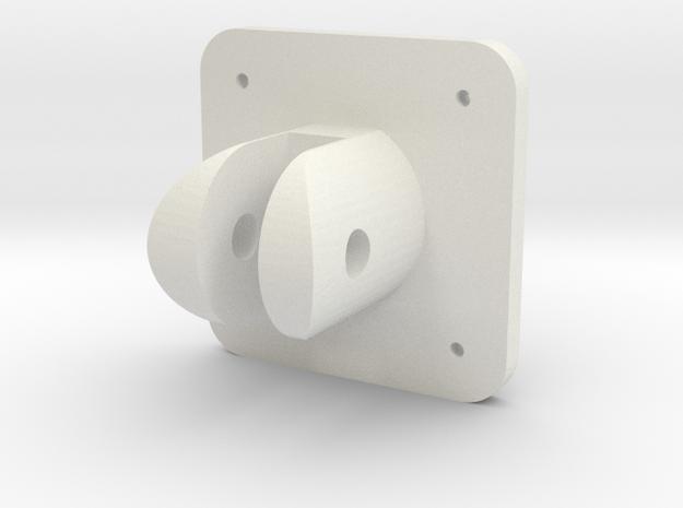 Spitfire Flap Selector Base in White Natural Versatile Plastic