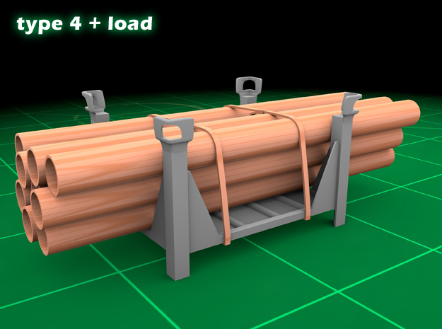 Stackable Container Type4 +load in Frosted Ultra Detail