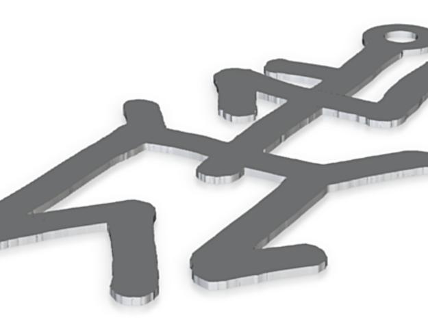 Japanese-Style Pendant 3d printed