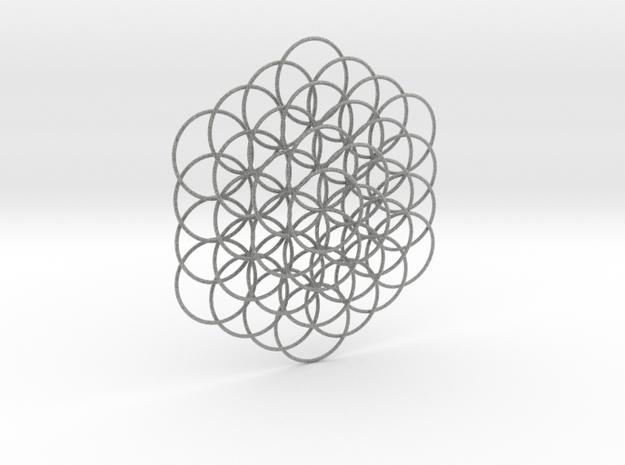 Flower Of Life Weave - 8cm  3d printed